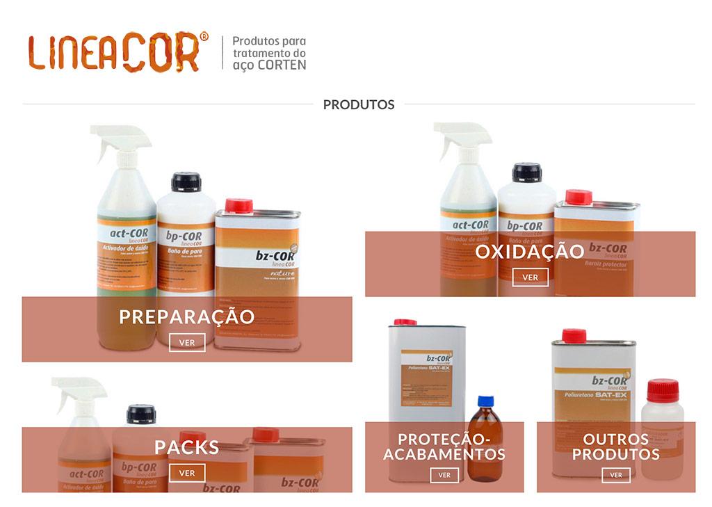 Produtos LINEACOR - TRATINOX