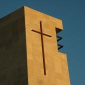 Fachada igreja aço corten